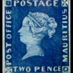 British's Mauritius-blue