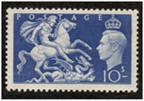great britain-postage ten